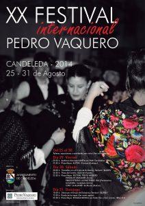 Cartel-2014-XX-Festival-Pedro-Vaquero