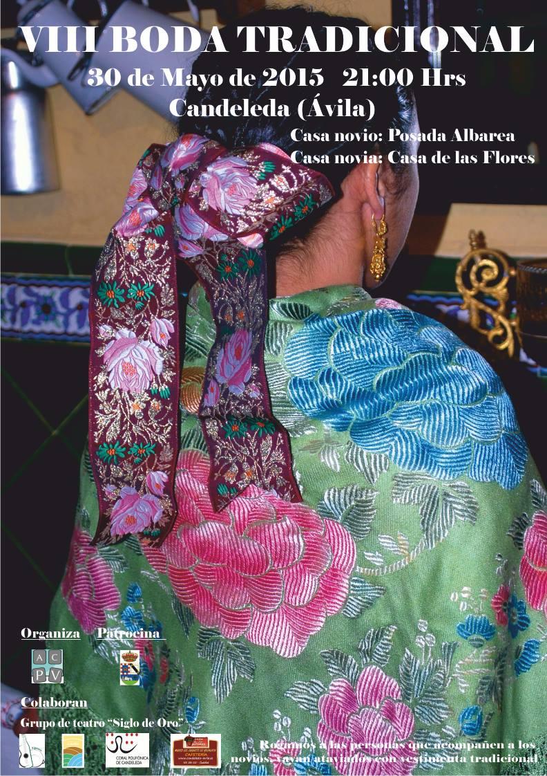 Boda tradicional - cartel 2015
